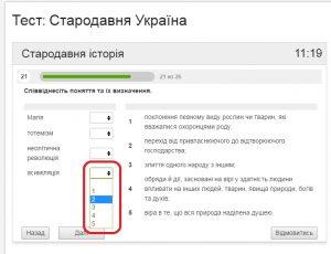 Українські землі у складі інших держав. Інструкція до тесту