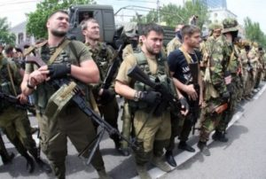 """Батальйон """"Восток"""" в Донецьку"""
