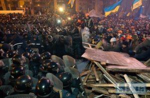 Штурм Майдану 11 грудня