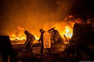 Протистояння на Майдані. 22 січня