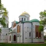 Спасо-Преображенський собор в Чернігові. 1036. Сучасний вигляд