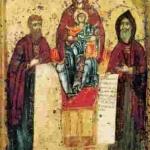 Свенська ікона Богородиці з Антонієм і Феодосієм Печерськими