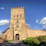 Верхній замок у Луцьку. Друга половина XIV ст. - XV ст.