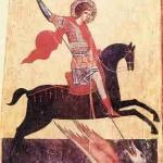 Ікона святого Юрія Змієборця із с. Станилі поблизу м. Дрогобич