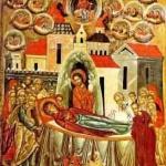 Ікона «Успіння Богородиці». 1547. О. Горошковим