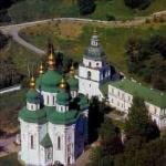 Георгіївська церква Видубицького монастиря в Києві. 1696-1701