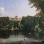 Картина «Садиба Г. Тарновського в Качанівці» В. Штернберг. 1837