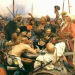 Картина «Запорожці пишуть листа турецькому султанові». 1880-1891. І. Рєпін