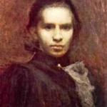 Картина «Портрет Лесі Українки». 1900.1. Труш