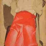 Картина «Життя». Триптих (Любов. Сім'я. Повернення). 1925-1927. Ф. Кричевський.