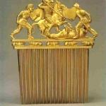 Золотий гребінь з кургану Солоха. Кінець V - початок IV ст. до н. е. *****